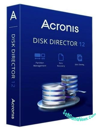 Acronis Disk Director ver. 12 (RUS)