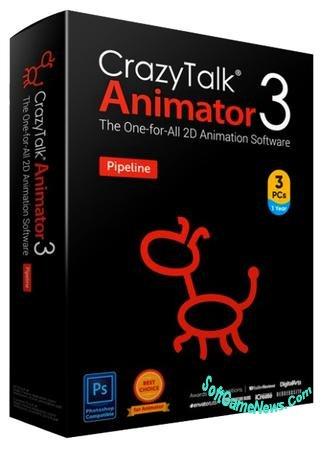 CrazyTalk Animator Pipeline v.3.3 (RUS) + Content Pack