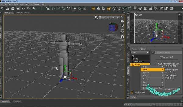 Daz Studio Pro Edition v.4.10 (+Content)