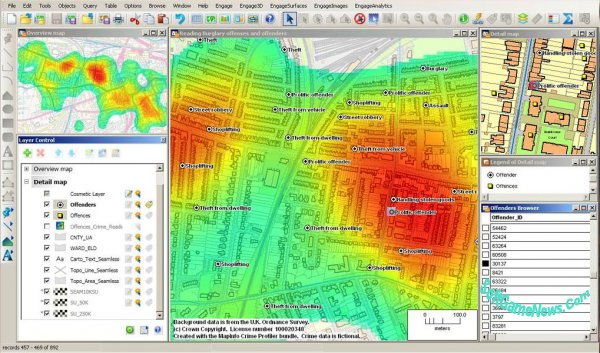 MapInfo Professional 17 (RUS|x32-x64 bit)