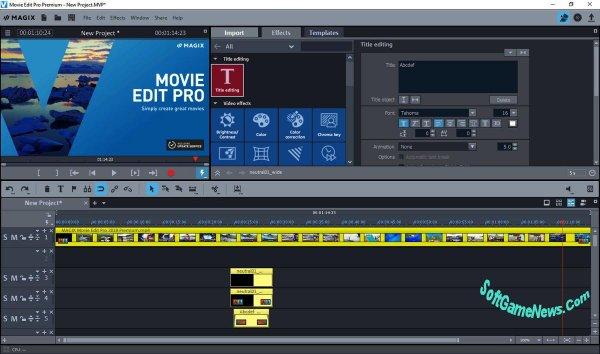MAGIX Movie Edit Pro 2019 (18.0.1.203) Premium [RUS]