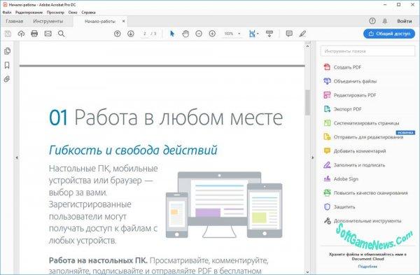 Adobe Acrobat Professional DC 2019 (RUS)