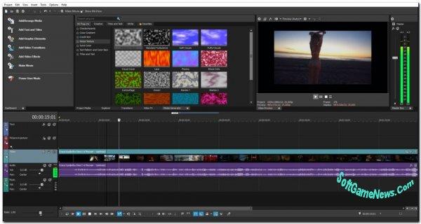 MAGIX VEGAS Movie Studio Platinum v.17.0.0.221 (RUS)