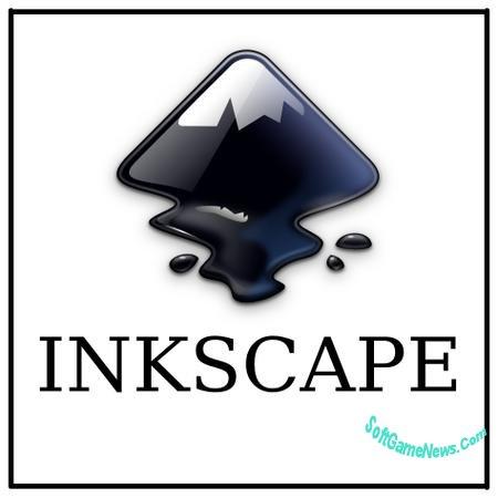 Inkscape векторный бесплатный графический редактор на русском языке.